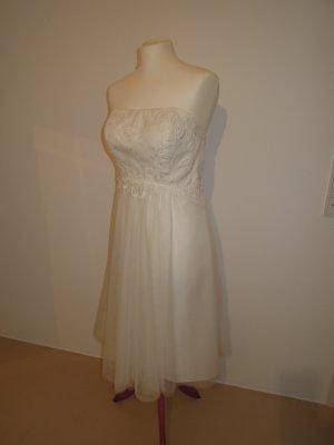 Valérie Vestido de novia blanco-blanco puro