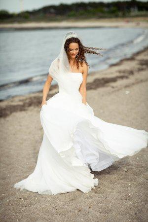 Lilly Vestido de novia blanco puro