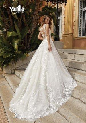 Brautkleid mit Spitze, ungetragen