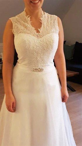 Fashion New York Abito da sposa bianco