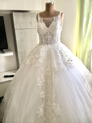 Wedding Dress natural white