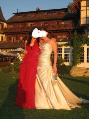 Brautkleid Pronovias in Champagner