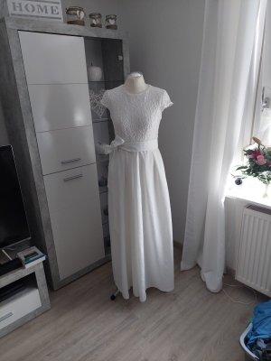 Ralph Lauren Wedding Dress white