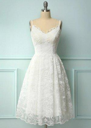 Zapaka Wedding Dress white-natural white