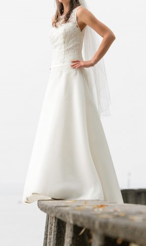 KLEEMEIER Robe de mariée blanc
