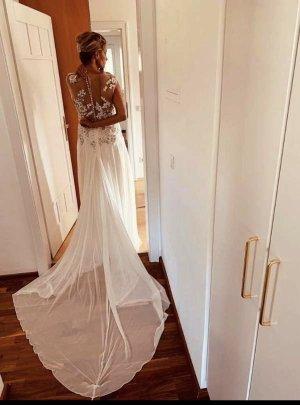 Brautkleid Seide Pronovias Atelier