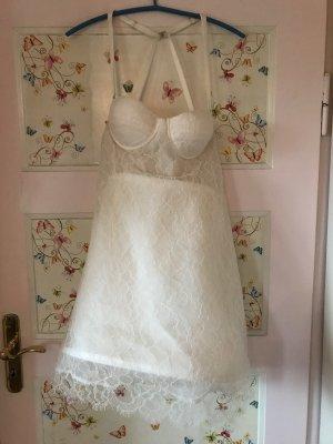 Brautkleid Sommerkleid Spitze Seide Topshop Richard Nicoll Neu 42