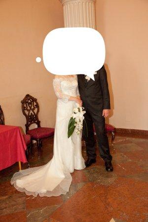 Brautkleid spitze Carmen sposa toskana gr 38