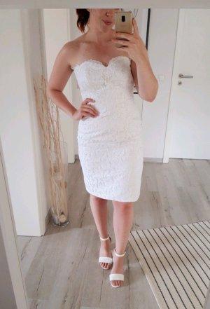 True Vintage Wedding Dress white