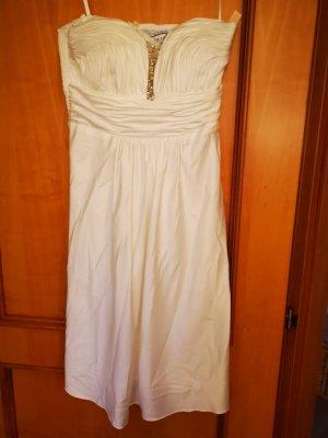 Heine Vestido de novia crema
