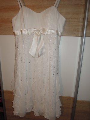 Brautkleid Standesamt Hochzeitskleid Cocktailkleid Kleid Gr. 38 NEU