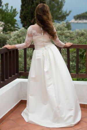 Lilurose Wedding Dress white
