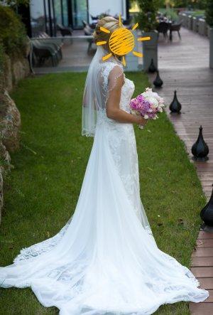 Pappillone Suknia ślubna kremowy