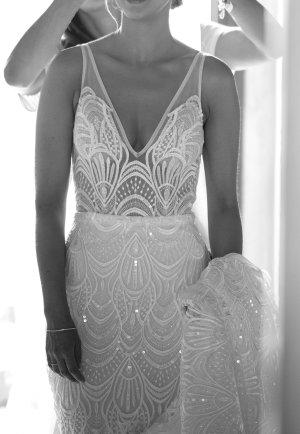 Made with love Vestido de novia multicolor