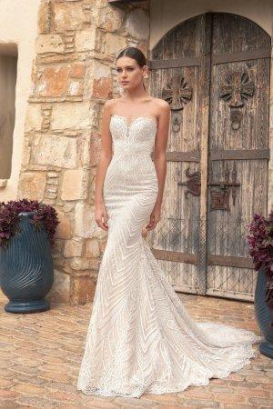 0039 Italy Wedding Dress oatmeal