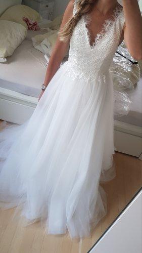 Weise Vestido de novia blanco