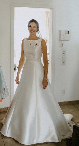 Brautkleid Weise - Spanische Eleganz