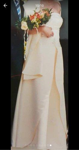 Brautkleid zartgelb, Gr 40, 1x getragen!