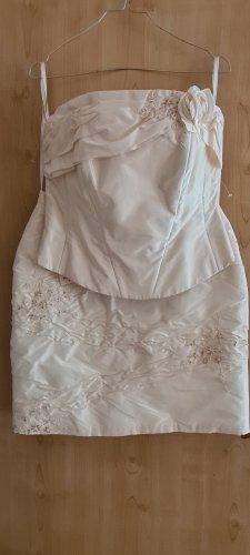 Agnes Wedding Dress cream satin