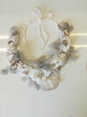 Brautschmuck Schmuckband Halskette Unikat Handgefertigt