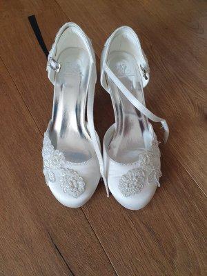Escarpins Mary Jane blanc