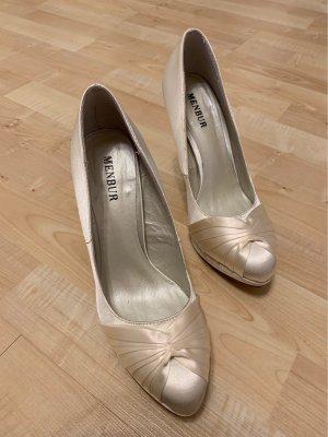Brautschuhe / High Heels ivory