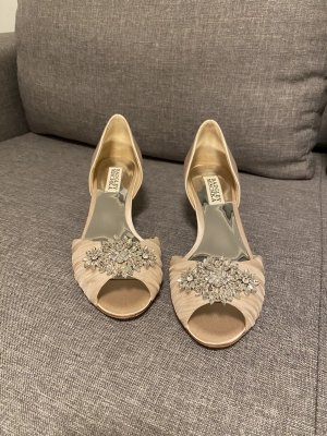 Badgley Mischka Peep Toe Pumps veelkleurig