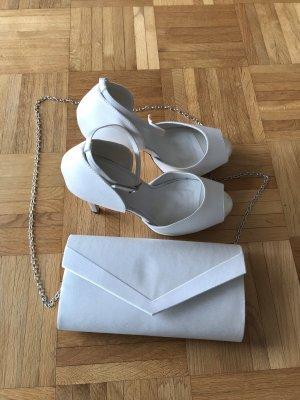 Brautschuhe und Tasche zu verkaufen
