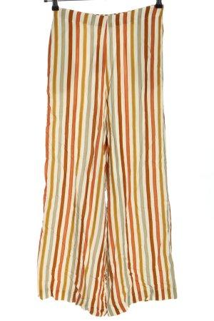 brava FABRICS Hoge taille broek gestreept patroon casual uitstraling