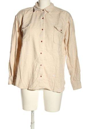 brava FABRICS Shirt met lange mouwen room casual uitstraling