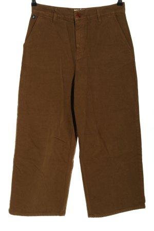 brava FABRICS Jeans met rechte pijpen bruin casual uitstraling