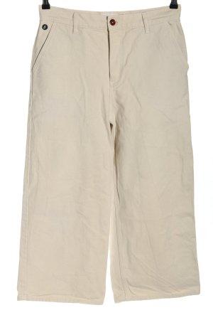 brava FABRICS Jeans met rechte pijpen wolwit casual uitstraling