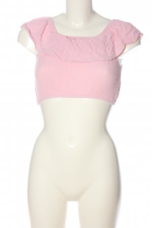 Brave Soul Cropped Shirt pink Casual-Look