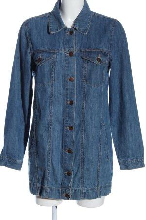 Brave Soul Camicia denim blu stile casual