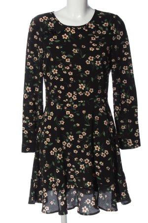 Brave Soul Sukienka z długim rękawem Na całej powierzchni W stylu casual