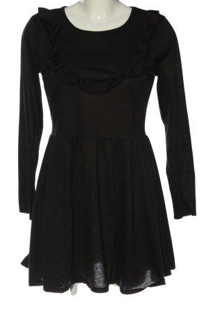 Brave Soul Robe à manches longues noir style décontracté
