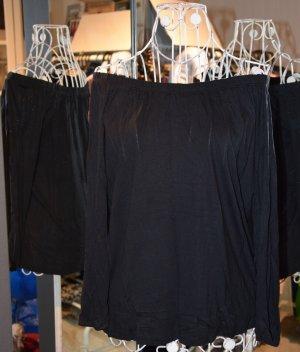 Brave Soul Koszulka oversize czarny