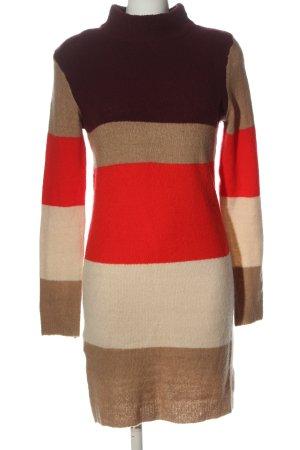 Brave Soul Pulloverkleid Streifenmuster Casual-Look