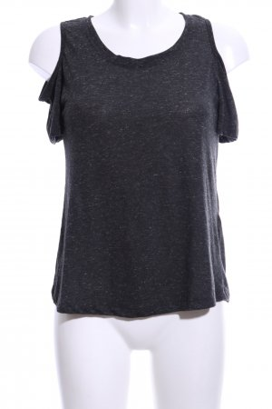 Brave Soul T-Shirt schwarz meliert Casual-Look