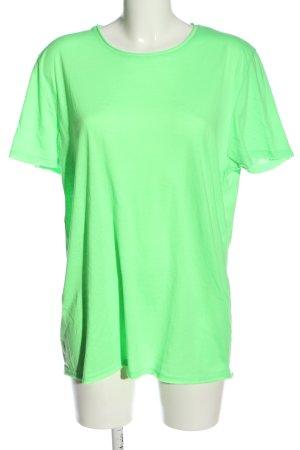 Brave Soul T-shirt zielony W stylu casual