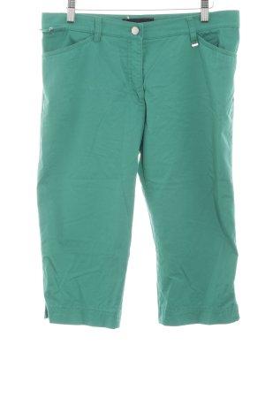 Brax Pantalon 3/4 vert imprimé allover style décontracté