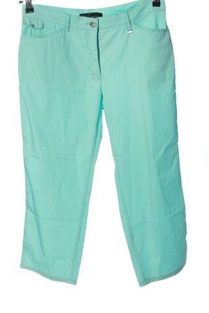 Brax Spodnie 3/4 turkusowy W stylu casual