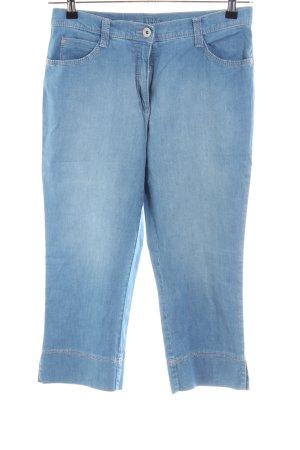 Brax Jeans 3/4 bleu style décontracté