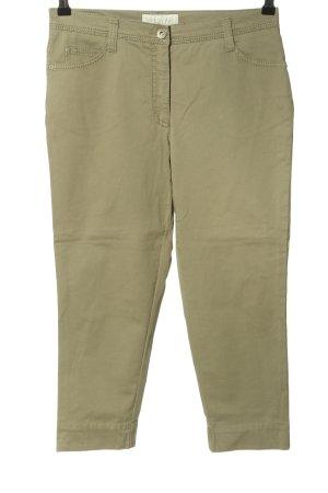 Brax 3/4-jeans khaki casual uitstraling