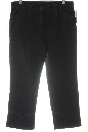 Brax Jeans a 3/4 marrone chiaro-blu scuro stile casual