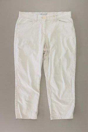 Brax Spodnie 7/8 w kolorze białej wełny