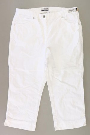 Brax 7/8 Length Trousers natural white cotton