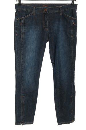 Brax 7/8-jeans blauw casual uitstraling