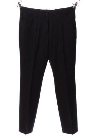 Brax Pantalon zwart zakelijke stijl