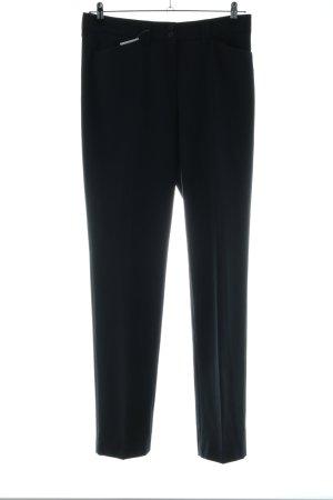 Brax Pantalon de costume noir style d'affaires